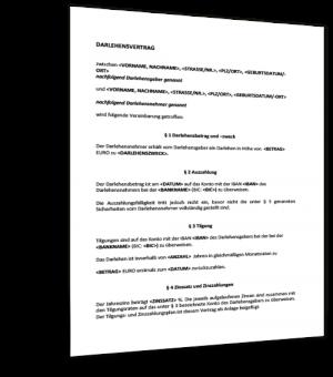 muster darlehensvertrag - Arbeitnehmeruberlassungsvertrag Muster