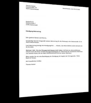 muster kndigung mietvertrag - Muster Honorarvertrag